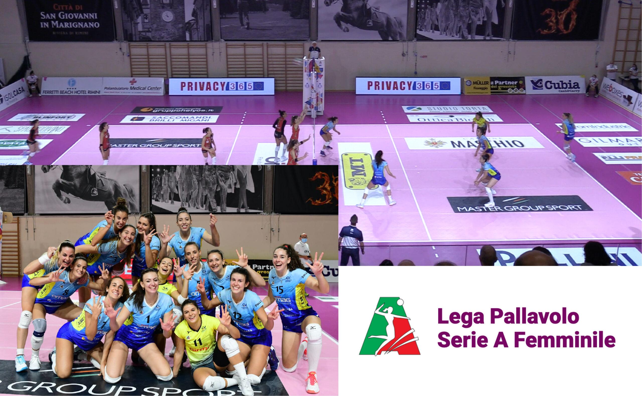 PRIVACY365 Sponsor Campionato Pallavolo Serie A Femminile